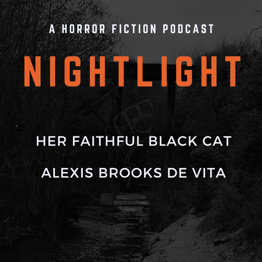 Her Faithful Black Cat by Alexis Brooks de Vita